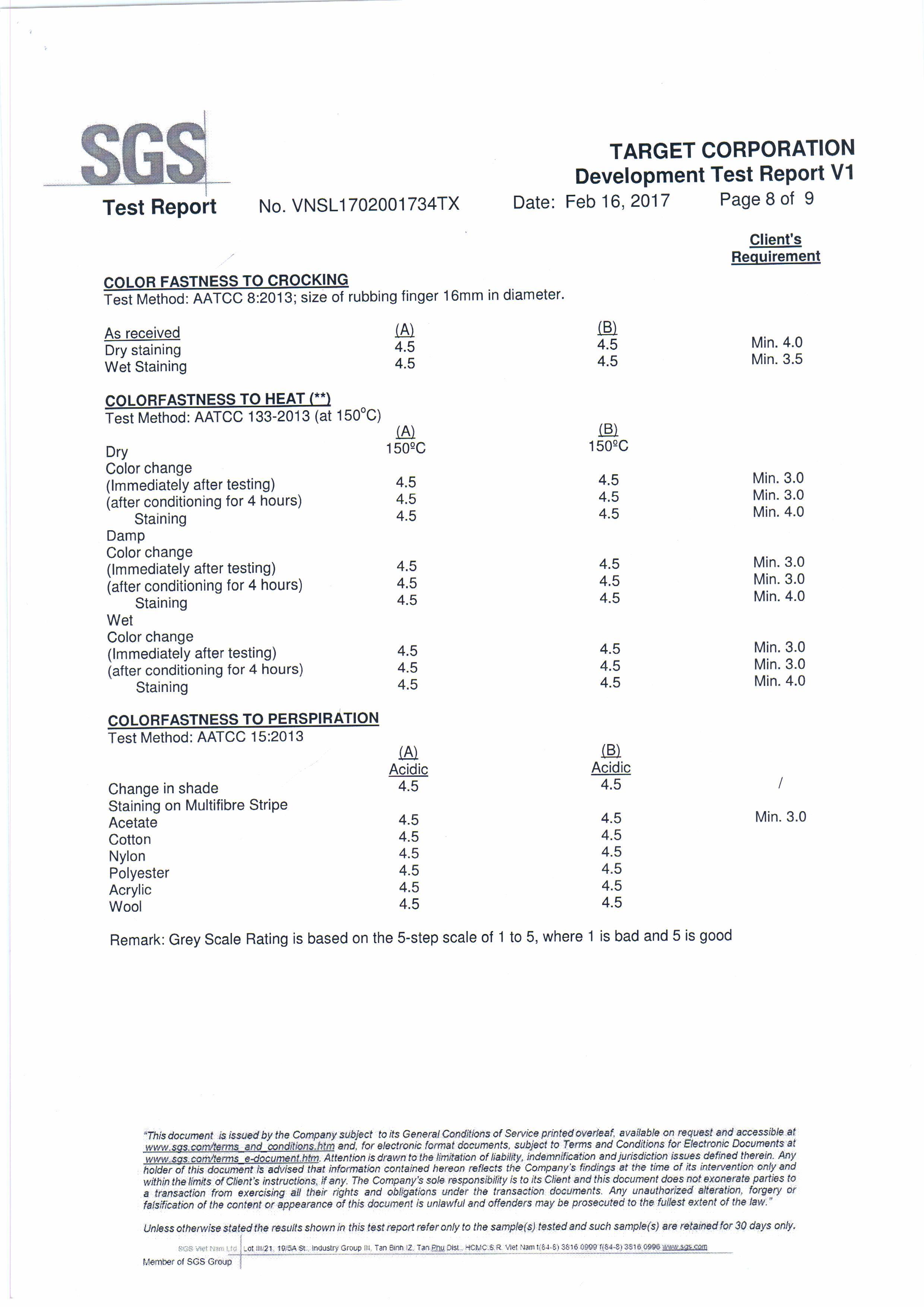 FILE TEST REPORT